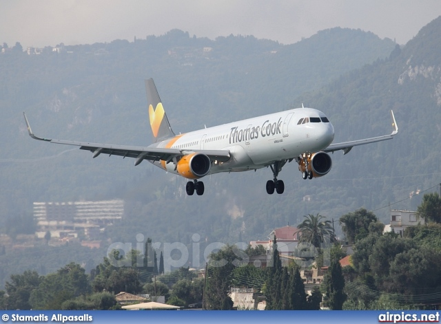 G-TCDG, Airbus A321-200, Thomas Cook Airlines