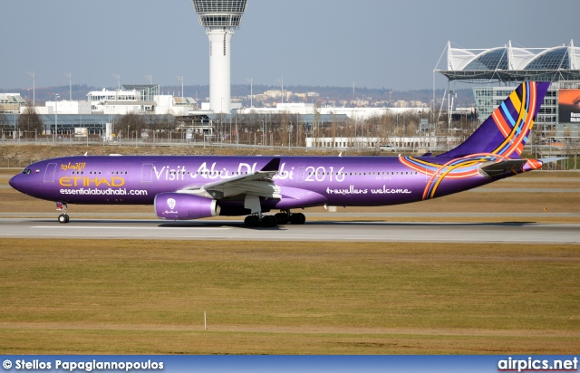 A6-AFA, Airbus A330-300, Etihad Airways
