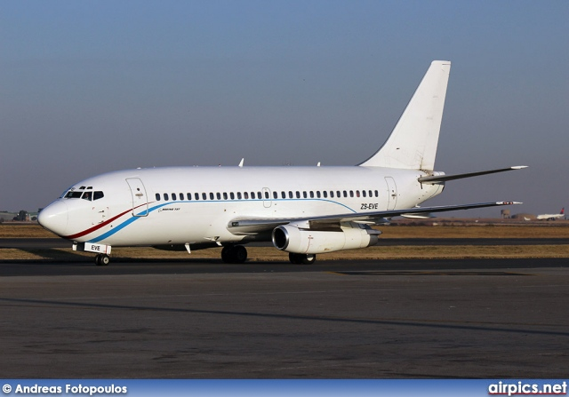 ZS-EVE, Boeing 737-200Adv, Jet Express Charter