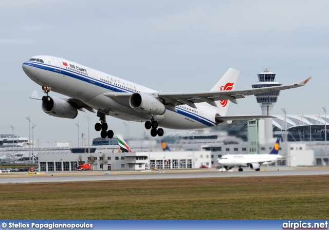 B 6549, Airbus A330-200, Air China
