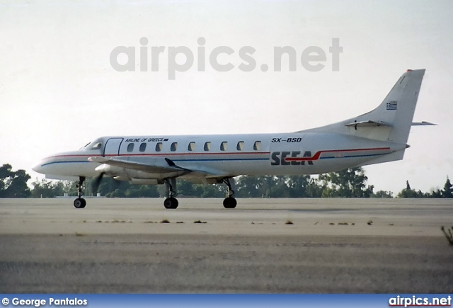 SX-BSD, Fairchild (Swearingen) SA-226-TC Metro II, South East European Airlines - SEEA