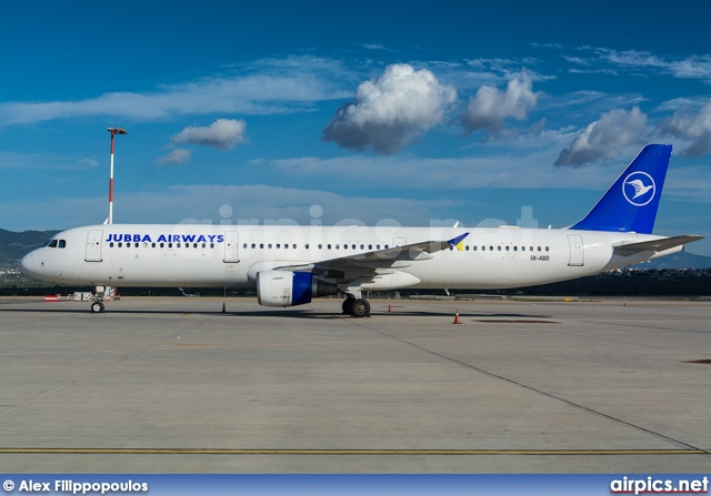 SX-ABD, Airbus A321-100, Jubba Airways