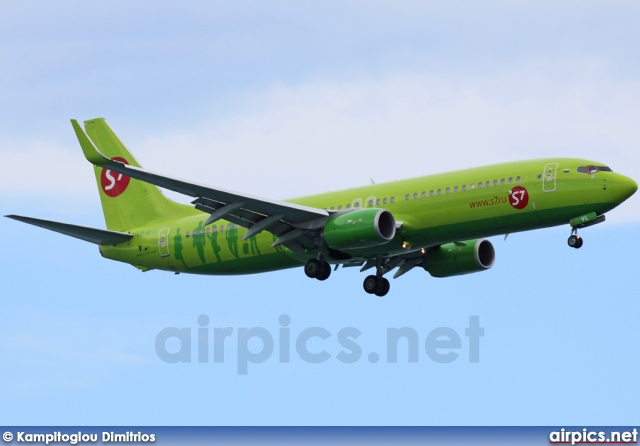 VQ-BVL, Boeing 737-800, S7 Siberia Airlines
