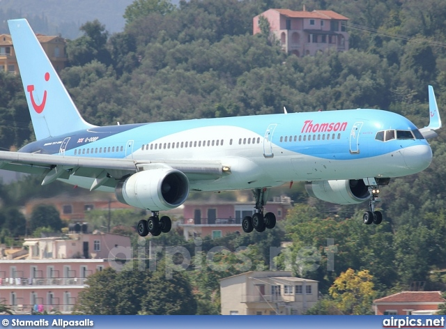 G-OOBP, Boeing 757-200, Thomson Airways