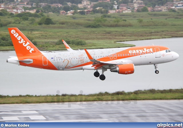 G-EZOX, Airbus A320-200, easyJet