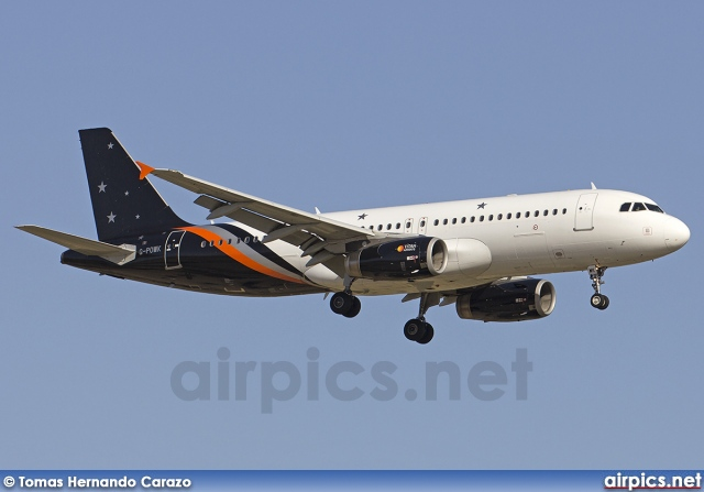 G-POWK, Airbus A320-200, Titan Airways