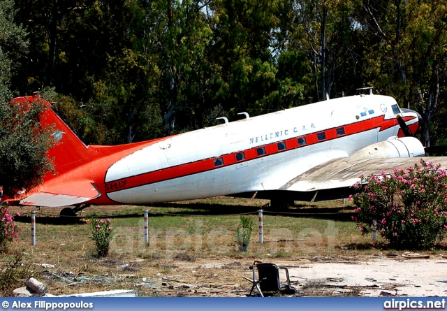 SX-ECF, Douglas DC-3-B, Hellenic Civil Aviation Authority
