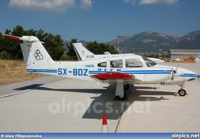 SX-BDZ, Piper PA-44 Seminole, Olympic Airlines