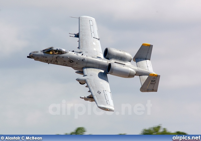 82-0654, Fairchild A-10-A Thunderbolt II, United States Air Force