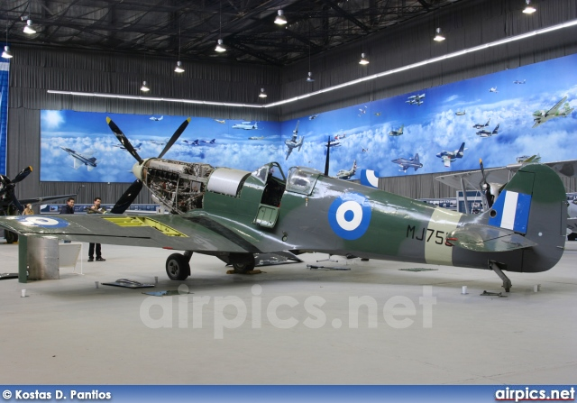 MJ755, Supermarine Spitfire-LF9C, Hellenic Air Force