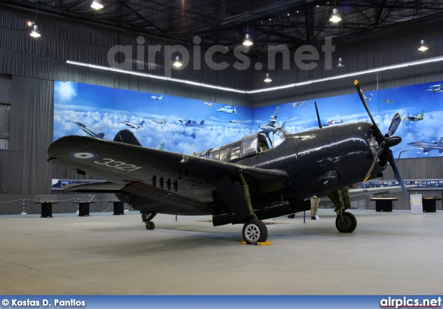 3321, Curtiss SB2C-5 Helldiver, Hellenic Air Force