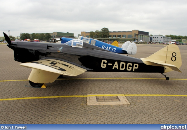 G-ADGP, Philips and Powis Miles M.2-L Hawk Speed Six, Private