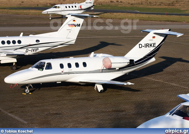 D-IRKE, Cessna 525-CitationJet CJ1, Private