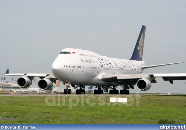 9V-SPP, Boeing 747-400, Singapore Airlines