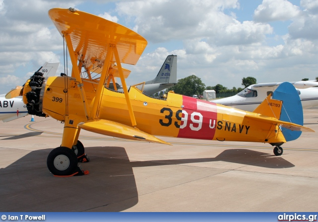 N67193, Boeing-Stearman Model 75-N2S-5 Kaydet, Private