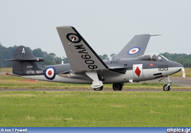 WV908, Hawker Sea Hawk-FG.6, Royal Navy - Fleet Air Arm