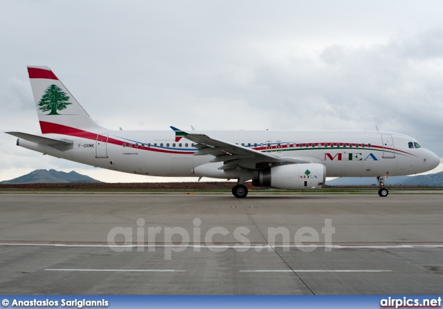 F-ORMK, Airbus A320-200, Middle East Airlines (MEA)