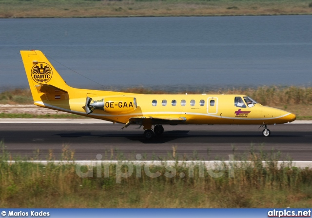 OE-GAA, Cessna 560-Citation V, Tyrol Air Ambulance