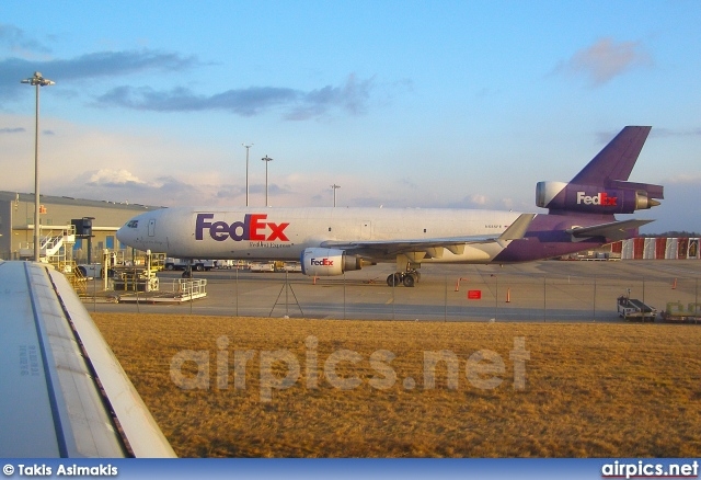 N585FE, McDonnell Douglas MD-11-F, Federal Express (FedEx)