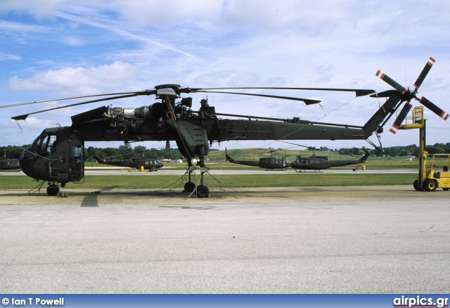 69-18480, Sikorsky CH-54-B Tarhe, United States Army