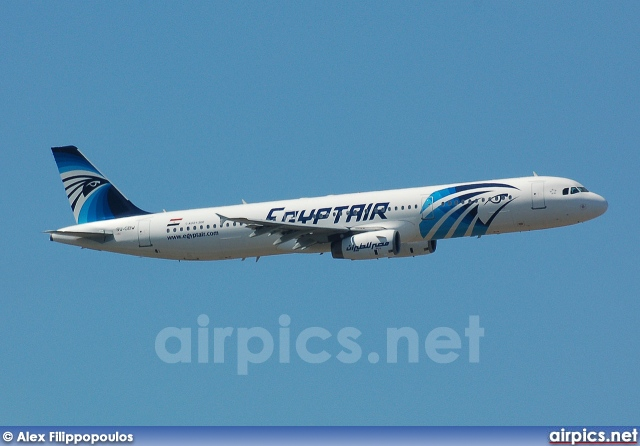 SU-GBW, Airbus A321-200, Egyptair