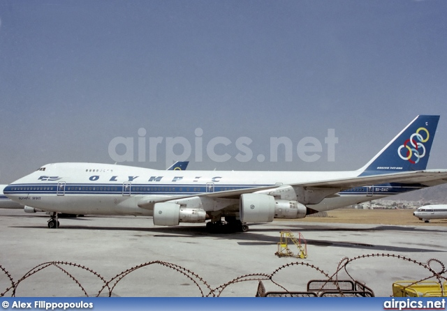 SX-OAC, Boeing 747-200B, Olympic Airways