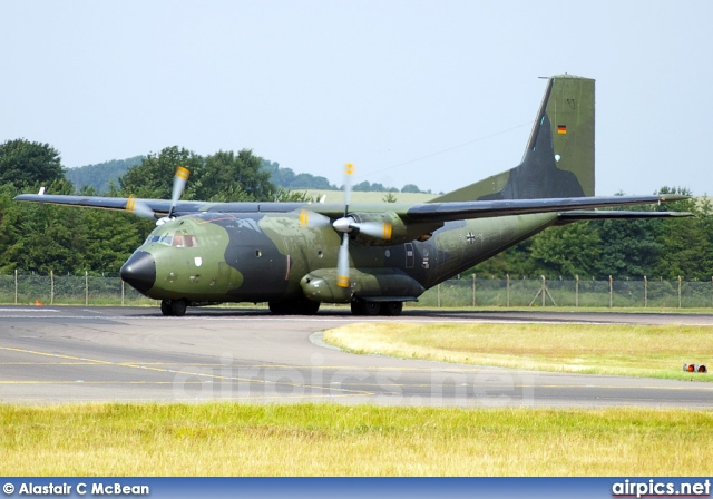 50-85, Transall C-160-D, German Air Force - Luftwaffe