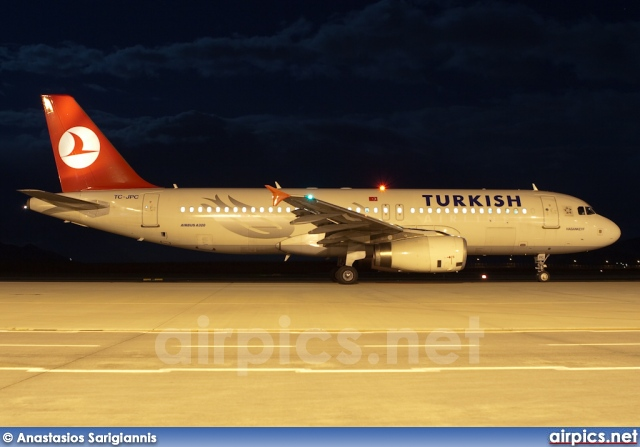 TC-JPC, Airbus A320-200, Turkish Airlines