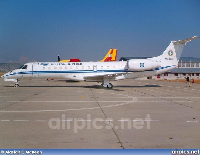 145-209, Embraer ERJ-135-LR, Hellenic Air Force