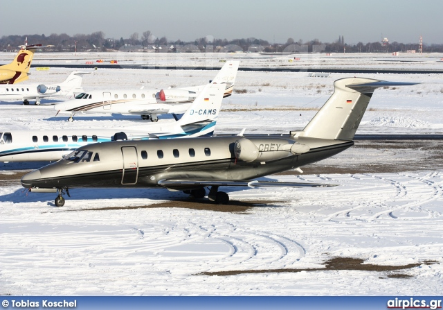 D-CREY, Cessna 650-Citation III, Triple Alpha Jet Charter