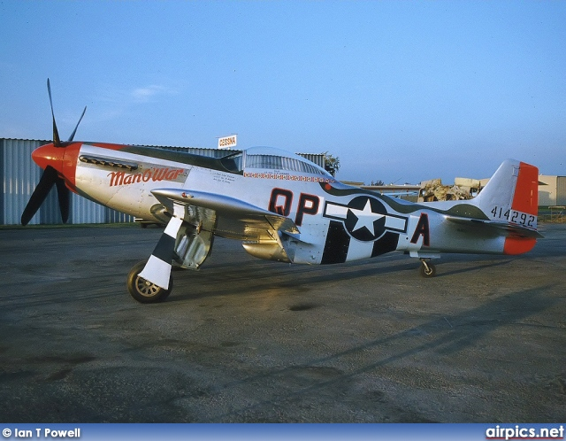 N44727, North American P-51-D Mustang, Private