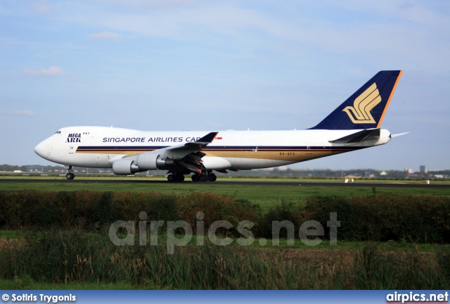 9V-SFO, Boeing 747-400F(SCD), Singapore Airlines Cargo