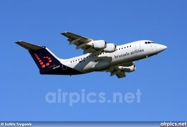 OO-DJO, British Aerospace Avro RJ85, Brussels Airlines