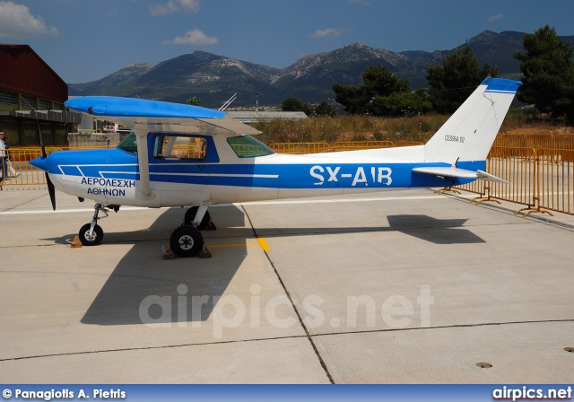 SX-AIB, Cessna (Reims) 152-II, Private