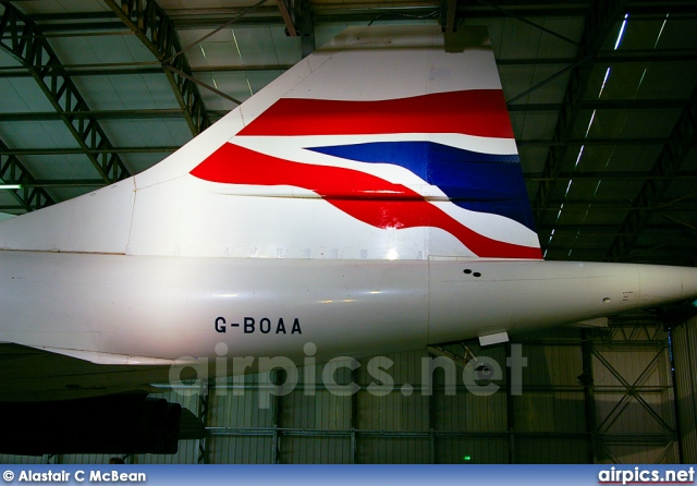 G-BOAA, Aerospatiale-BAC Concorde -102, British Airways