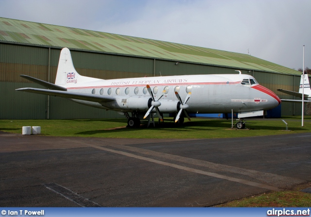 G-AMOG, Vickers Viscount-700, British European Airways (BEA)