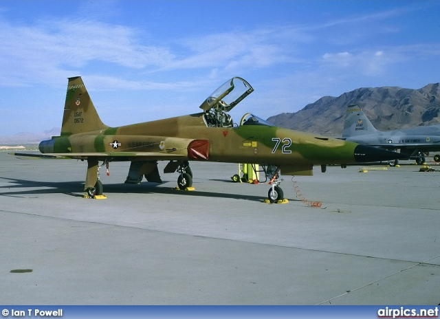 74-01572, Northrop F-5-E Tiger II, United States Air Force