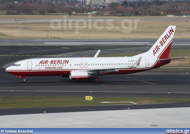 D-ABAV, Boeing 737-800, Air Berlin