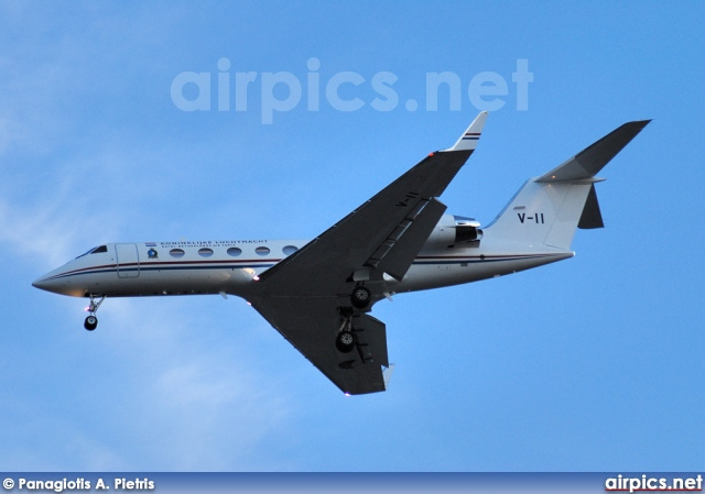 V-11, Gulfstream IV, Royal Netherlands Air Force
