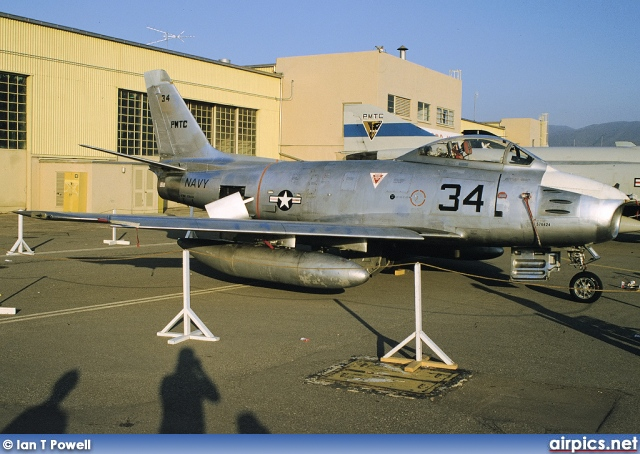 576424, North American QF-86-F Sabre, United States Navy