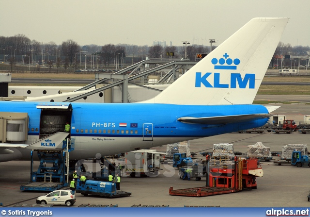PH-BFS, Boeing 747-400M, KLM Royal Dutch Airlines