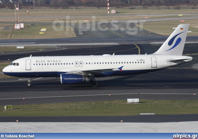 D-ANNJ, Airbus A320-200, Blue Wings