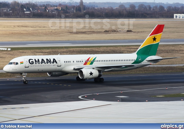 G-STRZ, Boeing 757-200, Ghana International Airlines