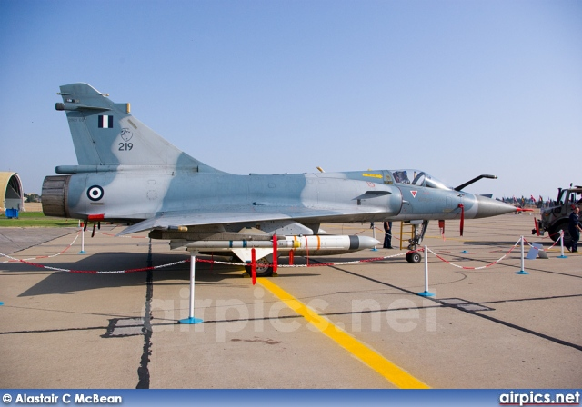219, Dassault Mirage 2000-EG, Hellenic Air Force