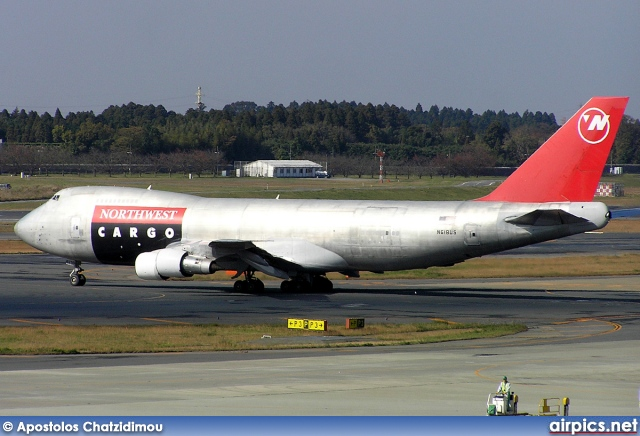 N618US, Boeing 747-200F(SCD), Northwest Airlines Cargo