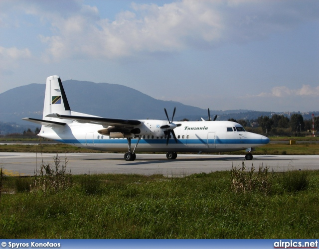 5H-TGF, Fokker 50, Tanzania Government
