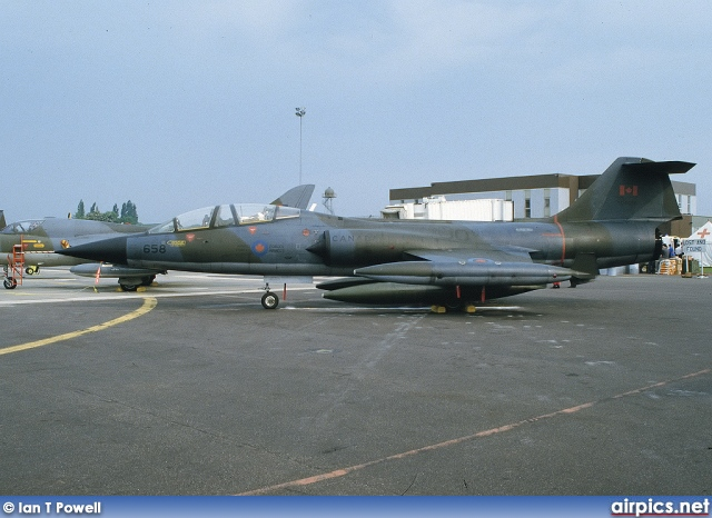 104658, Lockheed CF-104-D Starfighter, Canadian Forces Air Command