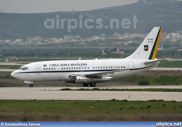 2115, Boeing VC-96 (737-200Adv), Brazilian Air Force