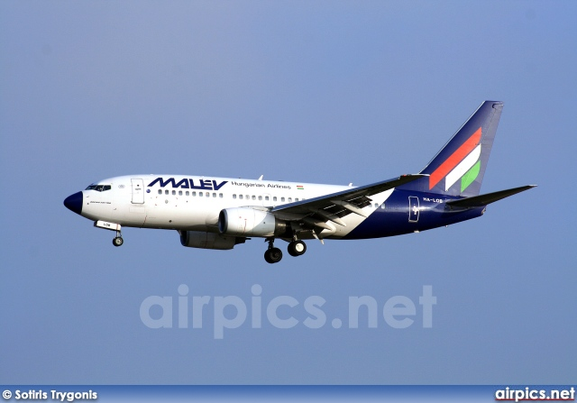 HA-LOB, Boeing 737-700, MALEV Hungarian Airlines