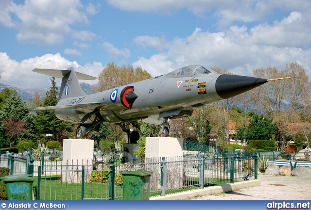 32717, Lockheed F-104-G Starfighter, Hellenic Air Force